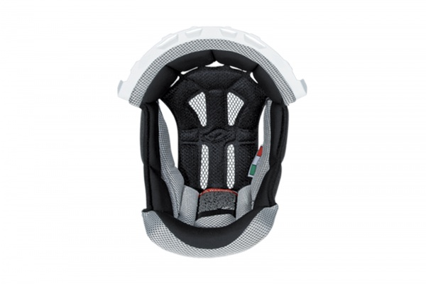 Inner pad for motocross helemt Interceptor & Warrior white - Helmet spare parts - HR010-WE - UFO Plast