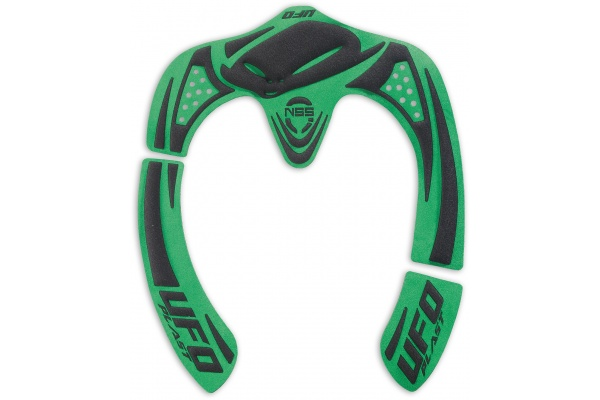Nss Neck Support System graphic kit green - Neck supports - PC02290-A - UFO Plast