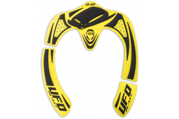 Nss Neck Support System graphic kit yellow - Neck supports - PC02290-D - UFO Plast