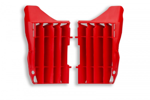 Motocross radiator louvers for Honda red - Radiator Louvers - AC02454 - UFO Plast