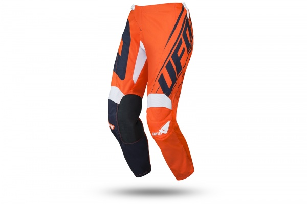 Motocross Vanadium pants neon orange for kids - Pants - PI04473-FFLU - UFO Plast