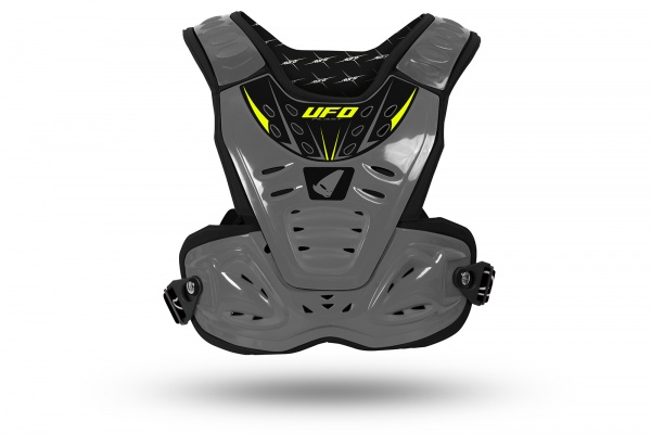 Motocross Reactor 2 Evolution chest protection gray - Chest protectors - PT02272-E - UFO Plast