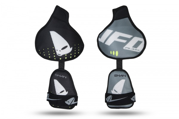 Shoulders replacement for motocross Shan chest protector black - Chest protectors - PT02393-E - UFO Plast