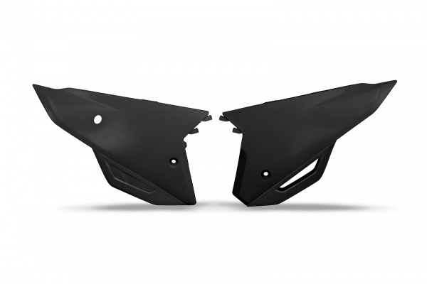 Side panels - black - Honda - REPLICA PLASTICS - HO05606-001 - UFO Plast