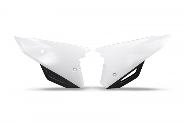 Side panels - white 041 - Honda - REPLICA PLASTICS - HO05606-041 - UFO Plast