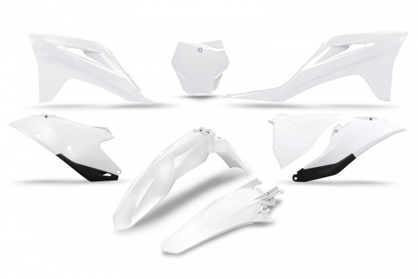 Complete body kit - white 041 - Gas Gas - REPLICA PLASTICS - GGKIT702-041 - UFO Plast