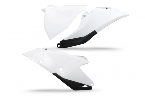 Side panels - white 041 - Gas Gas - REPLICA PLASTICS - GG07129-041 - UFO Plast