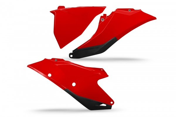 Side panels - red 062 - Gas Gas - REPLICA PLASTICS - GG07129-062 - UFO Plast
