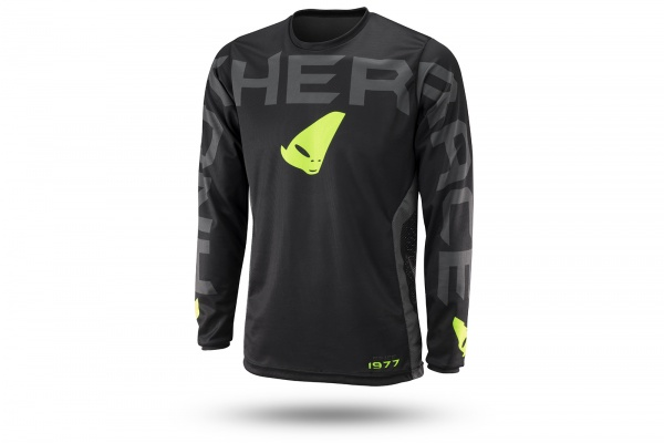 Motocross Another Race jersey black - NEW PRODUCTS - MG04483-K - UFO Plast