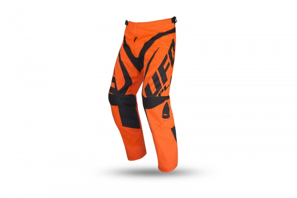 Motocross Another Race pants neon orange and black for kids - NEW PRODUCTS - PI04484-FFLU - UFO Plast