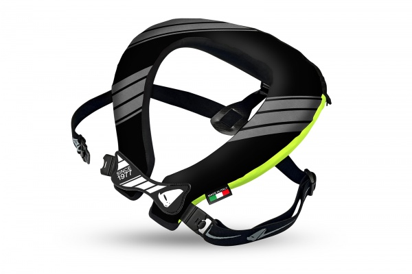 Motocross Bulldog neck support black and neon yellow - Neck supports - PC02442 - UFO Plast