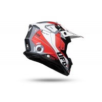 Motocross Intrepid helmet red and white - NEW PRODUCTS - HE154 - UFO Plast