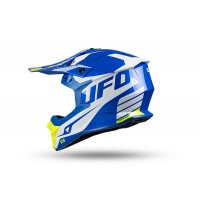 Motocross Intrepid helmet blue, white and neon yellow - NEW PRODUCTS - HE157 - UFO Plast