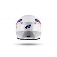 Jet helmet Sheratan white, blu and red - NEW PRODUCTS - HE147 - UFO Plast