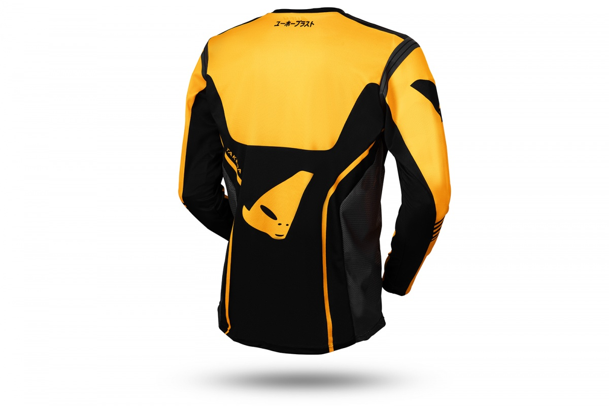 Motocross Takeda jersey black and yellow - NEW PRODUCTS - MG04502-D - UFO Plast