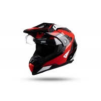 Motocross enduro helmet Aries black and red - NEW PRODUCTS - HE163 - UFO Plast