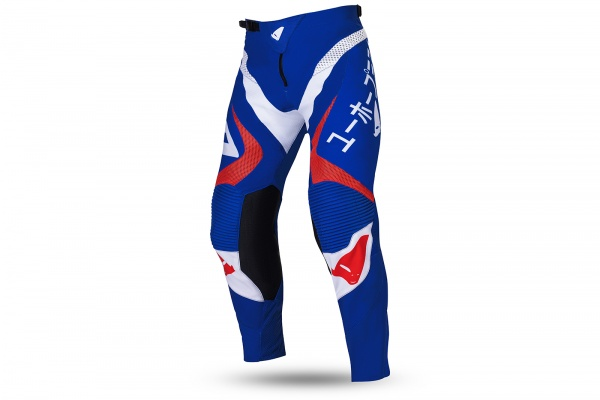 Motocross Takeda pants blue, white and red - NEW PRODUCTS - PI04503-CB - UFO Plast