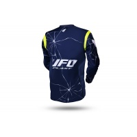 Motocros Bullet jersey blue and neon yellow - NEW PRODUCTS - MG04504-N - UFO Plast