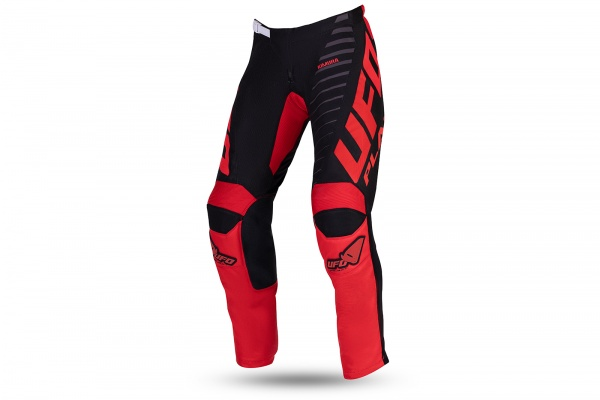 Motocross Kimura pants black and red - NEW PRODUCTS - PI04491-KB - UFO Plast