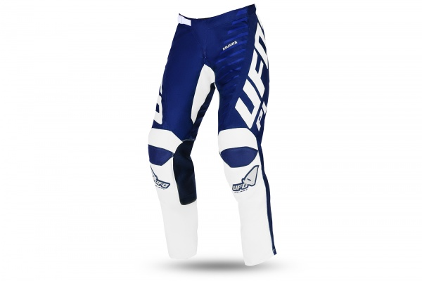 Motocross Kimura pants for kids blue and white - NEW PRODUCTS - PI04495-C - UFO Plast