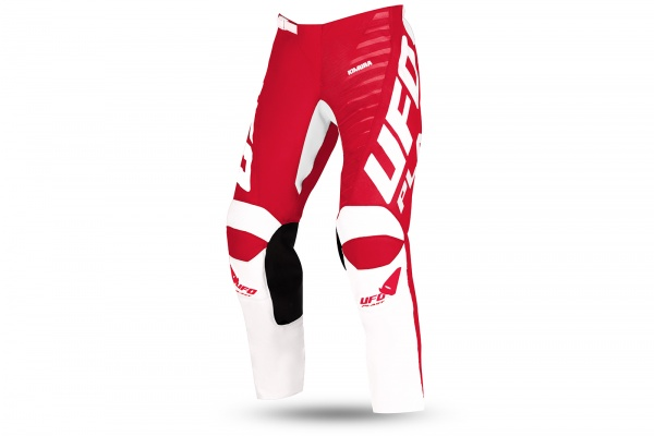 Motocross Kimura pants for kids white and red - NEW PRODUCTS - PI04495-B - UFO Plast
